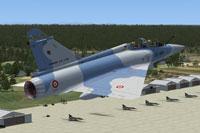 Screenshot of MAIW Mirage 2000 taking off.