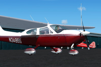 Screenshot of AOPA Cessna Cardinal N34995 on the ground.