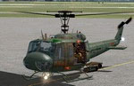 Screenshot of Bell UH-1 Huey on the ground.
