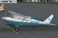 Screenshot of Aero Boero AB-115 on the ground.