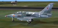 Screenshot of Aero Vodochody L39 Normandie Niemen on the ground.
