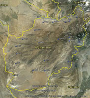Overview of Afghanistan Airfields.