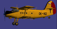Screenshot of Agroair Antonov An-2 in the air.