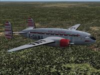 Screenshot of Air Algerie Sud Ouest 30P Bretagne in flight.
