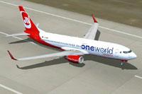 Screenshot of Air Berlin Boeing 737-800WL on runway.