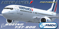 Screenshot of Air France Boeing 737-800WL.