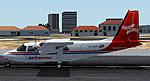 Air Panama Britten Norman BN2 preparing for take-off.