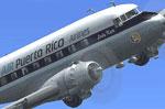 Screenshot of Air Puerto Rico Douglas DC-3 in flight.