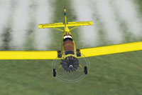 Screenshot of Air Tractor AT-301 in flight.