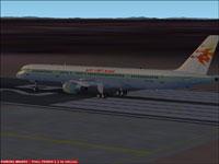 Screenshot of Air Viet Nam Boeing 757-300 on runway.