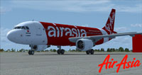 Screenshot of AirAsia Japan Airbus A320 on the ground.
