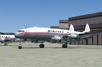 Screenshot of Airlift International Lockheed on the ground.
