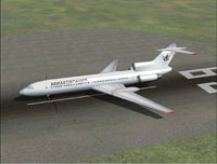 Screenshot of Airlines 400 Tu-154 on the ground.
