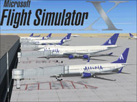 Splash Screen featuring an Alegria Air fleet.