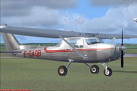 Screenshot of Alencon Cessna C150 on the ground.