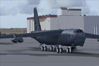 Screenshot of Alpha CONECT B52H on the ground.