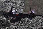Screenshot of Lockheed SR-71A Blackbird in flight.