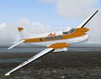 Screenshot of Altair DH104 Dove in flight.