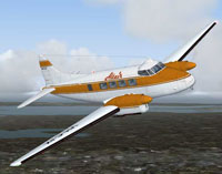 Screenshot of Altair DeHavilland DH104 Dove in flight.