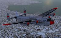 Screenshot of Arctic Wings Ltd. Avro York in flight.
