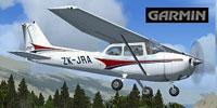 Screenshot of Ardmore Aerodrome Cessna 172 in the air.