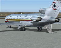 Screenshot of Astrojet on the ground.