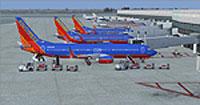 Screenshot of Austin-Bergstrom Airport.