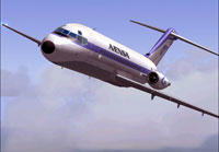 Screenshot of Avensa Airlines Douglas DC-9-10 in flight.