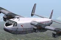 Screenshot of Avro 685 York C1 G-AHFE in the air.