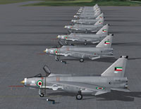 Kuwait Air Force F53's and T55's on the ground.