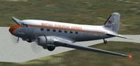 Screenshot of BEA Douglas DC-3 in flight.