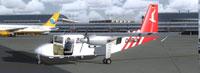 Screenshot of BN-2 Islander OLT D-IFBN on the ground.