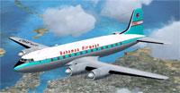 Screenshot of Bahamas Airways Handley Page Hermes in flight.