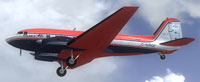 Screenshot of Basler BT-67 'Polar 6' in flight.