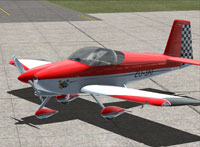 Screenshot of Baytower RV7/A ZU-JAF on the ground.