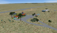 Screenshot of Beaufort West Airfield.