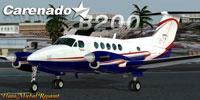 Screenshot of Beechcraft B200 King Air on the ground.