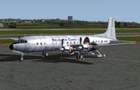 Belize Cargo Ltd. Douglas DC-7C awaiting passengers.