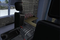 Black Seats in the Virtual Cockpit.