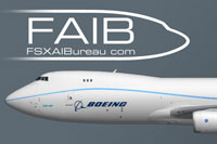 Side view of Boeing 747-8F.