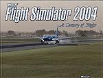 Splash Screen showing Dreamliner Boeing 757 on runway.