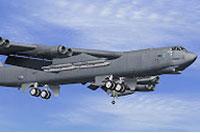 Screenshot of Boeing B-52 Stratofortess in flight.