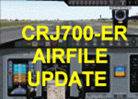 Image representing the CRJ700-ER update.