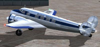 Screenshot of Boston Maine Lockheed L10A on the ground.