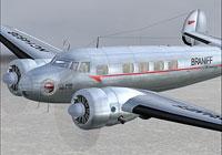 Screenshot of Braniff Airways Lockheed L-10 in flight.