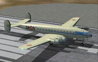 Screenshot of Breda Zappata 308 on runway.