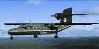 Screenshot of Britten-Norman Trislander in flight.
