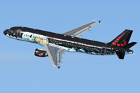 "Screenshot of Airbus A320 in ""Tintin"" livery."