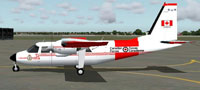Screenshot of CAF BN2 Islander on the ground.