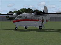 Screenshot of CATA IAI 201 Arava on the ground.